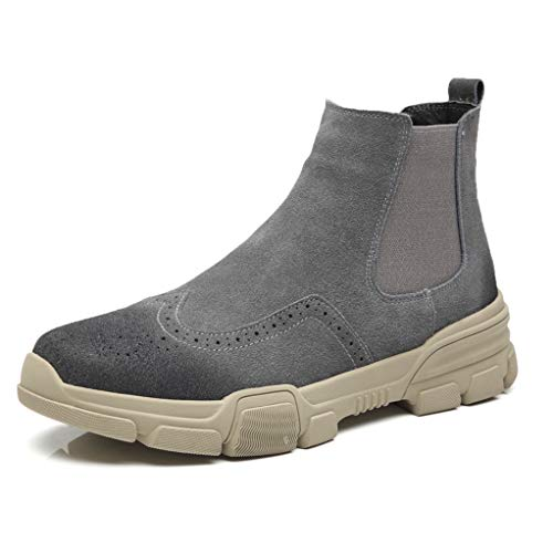Giles Jones Men's Chelsea Boots Autumn Winter Fashion Wear Resistance Ankle Boots ()
