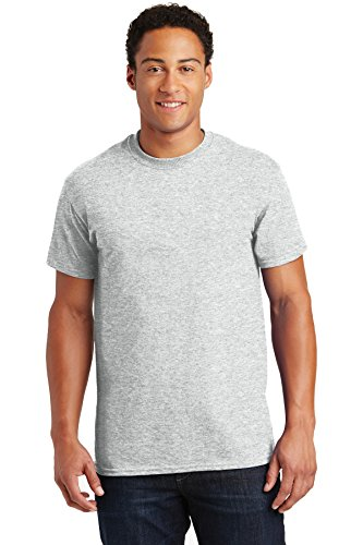 Gildan Men's Ultra Cotton T-Shirt (5 Pack) - Others Ash T-shirt Grey