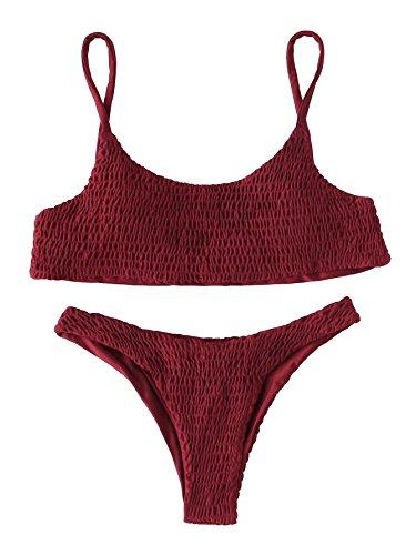 Burgundy Bikini Set in Australia - 7
