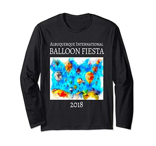(Balloon Festival Official Long Sleeve T-Shirt)