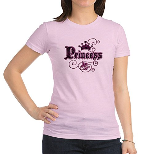 Royal Lion Jr. Jersey T-Shirt Fleur De Lis Princess - Pink, Medium