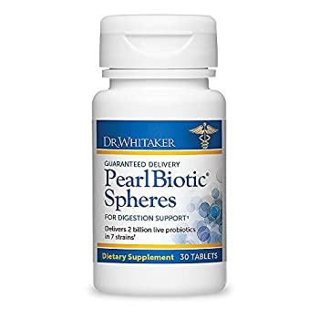 Dr. Whitaker's PearlBiotic Spheres with 2 Billion Probiotics for Smooth, Trouble-Free Digestion, 30 tablets (30-day supply)