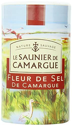 Le Saunier De Camargue Fleur De Sel Sea Salt, 35.27-Ounce (1 Kg) Canister (2 PACK) by Le Saunier De Camargue (Image #1)