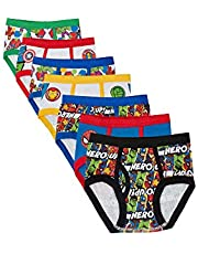 Marvel Boys TBUP5283 7-Pack Superhero Adventures Brief Underwear Underwear - Multi