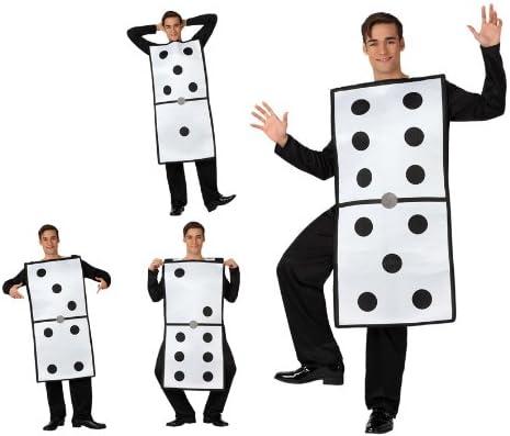 Atosa - Disfraz de domino adultos, talla 50-52 (8422259156154 ...