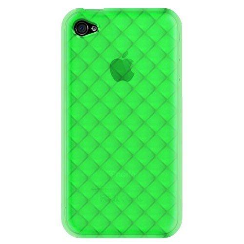 Katinkas 6006908 Housse en silicone TPU pour Apple iPhone 4 Neon