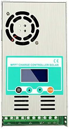 Y&H 60A MPPT Solarladeregler 12V 24V 36V 48V Max.190VDC Eingang Solarpanel-Ladegerät für mit Lithium belüftetes, versiegeltes Gel NiCd-Batterie-Regler Hintergrundbeleuchtung
