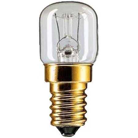 Fridge Bulb Special Lamp for Household Appliances, E14, 230V, 15W, Transparent, 78LM 3 Pieces