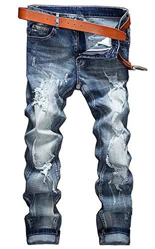 Punto Classic Ssige Ige Youth Lavaggio Outdoor T Nne Da Dritto Trend Blau Vita Men Comoda Fit Uomo Fashion Jeans Elastico Cotone Abbigliamento Alta Rule xIqvZtUw