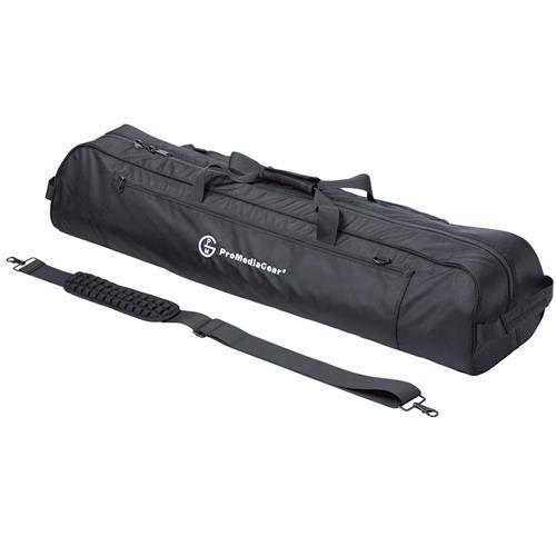 ProMediaGear Tripod Gear Gig Bag with Shoulder Strap and Adjustable Internal Divider, Large