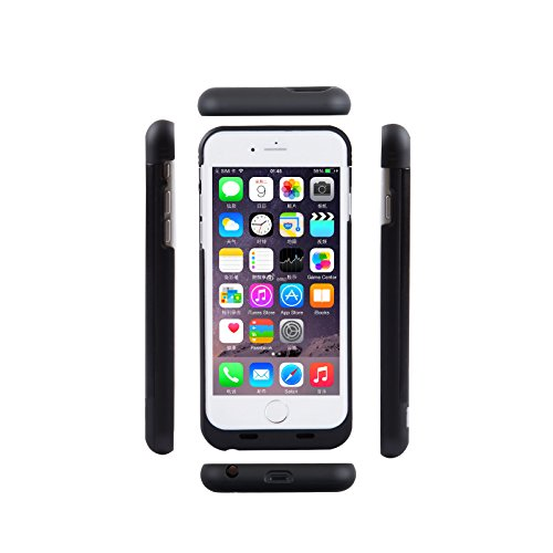 3800mah External Battery Case iPhone 6/ iPhone 6s (Black) - 5