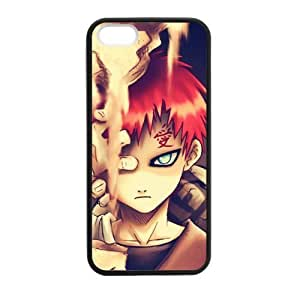 FUNKYCAT Designed Naruto Custom Case Stylish Hybrid Back Case for iPhone 5,5S TPU (Laser Technology)
