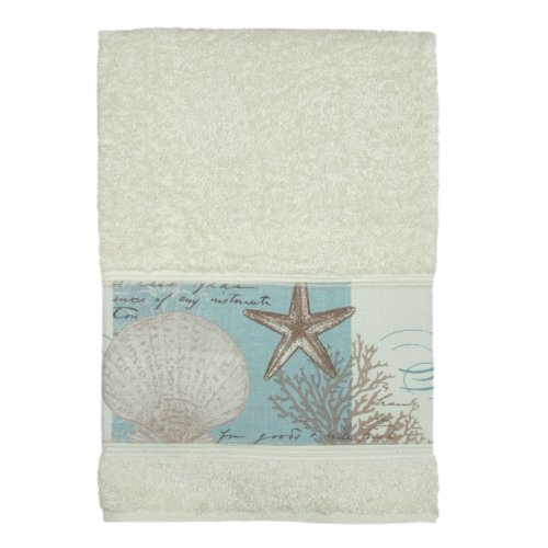 "Bacova Guild ""Coastal Moonlight"" Cotton Terry Bath Towel"
