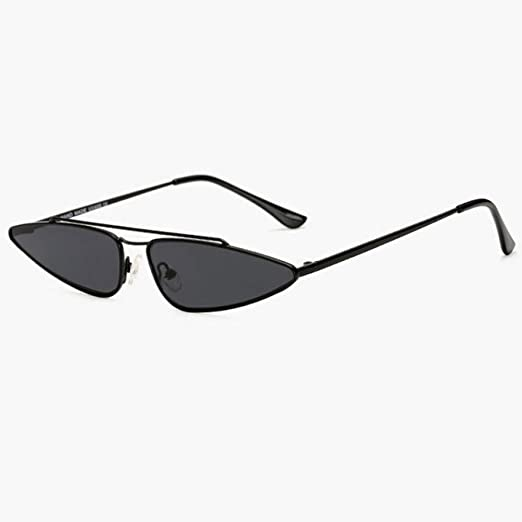 Yangjing-hl Gafas de Sol con Montura Rectangular para Mujer ...