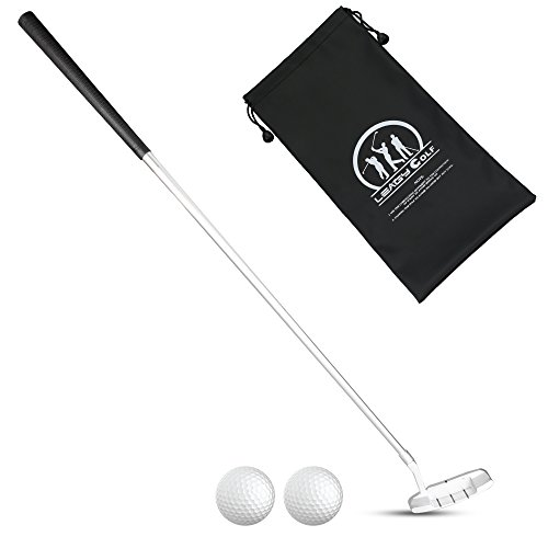 LEAGY Best Portable White Zinc Alloy Golf Right Hand Wedge and 2 Golf Ball (Right)