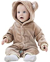 IDGIRL Baby Girls Boys' bear style Jumpsuit spring & Autumn Romper Clothing