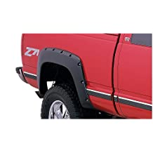 Bushwacker 40062-02 Chevrolet / GMC Pocket Style Fender Flare - Rear Pair