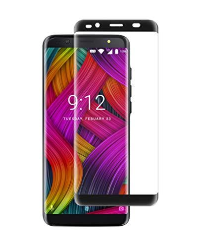 NUU Mobile G3 Tempered Glass Screen Protector- Black Border (Mobile Glass)