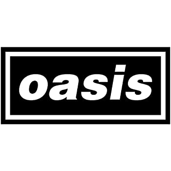 """Amazon.com: OASIS 6"""" Rock Band Logo Decal Sticker for Cars ... Oasis Band Logo"""