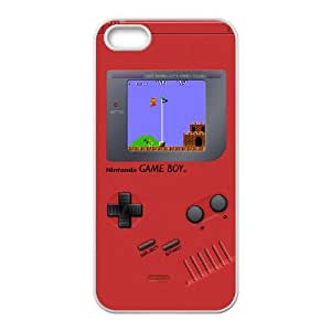 Game boy Super Mario Bros iPhone 4 4s Cell Phone Case White Protect your phone BVS_733155