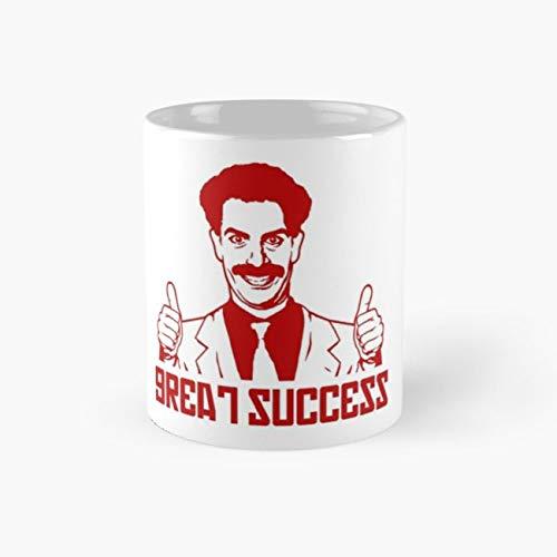 borat Mug, borat Funny Mugs, 11 Ounce Ceramic Mug, Perfect Novelty Gift Mug, Tea Cups, Funny Coffee Mug 11oz, Tea Mugs ()