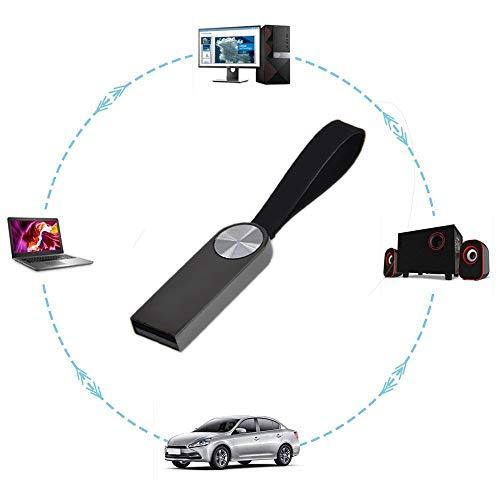 2GB Flash Drive Pack of 5 Keychain USB 2.0 Thumb Drives, Kepmem Multi-Color Jump Drive Mini Zip Drive, Metal USB Key Storage Memory Stick
