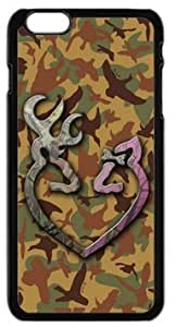 LILICHEN Browning Cutter Logo Camo Case Cover for Iphone 6 4.7 by runtopwell