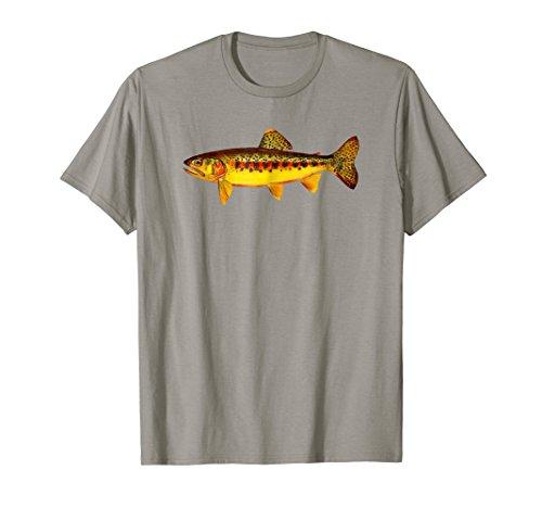 Retro Golden Trout T-Shirt - California Fly Fishing Fish