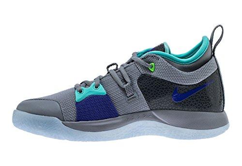 Nike Pg 2 Herre Aj2039-002 Rent Platin / Neo Turq-ulv Grå 2HV9DZTASV