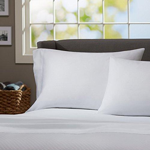 Luxury Brand , California King Sized Split Sheet Set 5 Piece , 100 Percent Egyptian Cotton 600 Thread Count , White plain