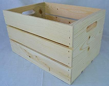 One Slatted 14u0026quot; X 10 U0026quot; X 9 U0026quot; Wooden Storage Crate With