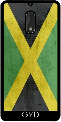 Funda de silicona para Nokia 6 - Bandera De Jamaica by wamdesign
