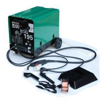 Außergewöhnlich Hst MIG MAG Schweißgerät 195 Ampere Schutzgas Schweissgerät #OR_93