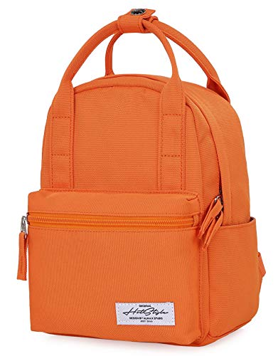 (8811s Extra Mini Backpack Purse Cute for Women, Orange)