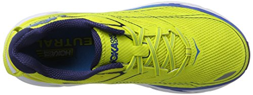 Hoka One One Clifton 3, Zapatillas de Running para Hombre, Amarillo (Citrus/Dresden Blue), 42 2/3 EU