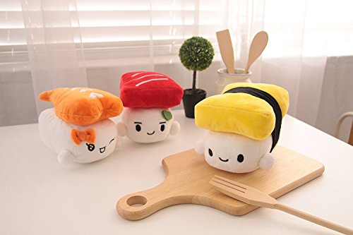 Sushi Plushies - Egg, Shrimp, Tuna 2