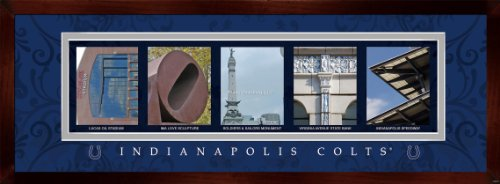 Prints Charming Letter Art Framed Print, Indianapolis Colts-Colts, Bold Color - Mall Indianapolis Discount