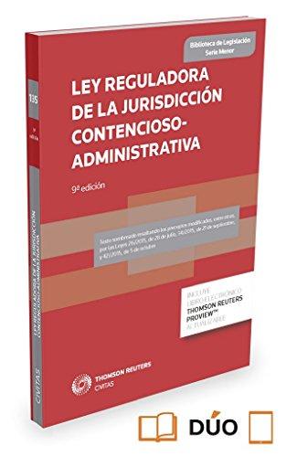 Descargar Libro Ley Reguladora De La Jurisdicción Contencioso-administrativa : Ley 29/1998, De 13 De Julio De Departamento Departamento De Redacción Civitas