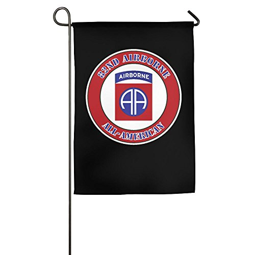 AquarScorp Us Army 82nd Airborne Division Garden Flag 12 X 1