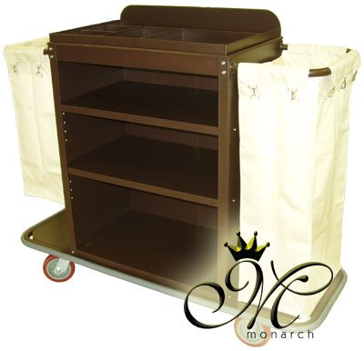 Commercial Grade Housekeeping Cart by MonarchCarts