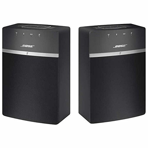Bose SoundTouch 10 Wi-Fi Speakers 2-Pack - Black