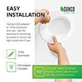 Sunco Lighting 10 Pack 4 Inch LED Recessed