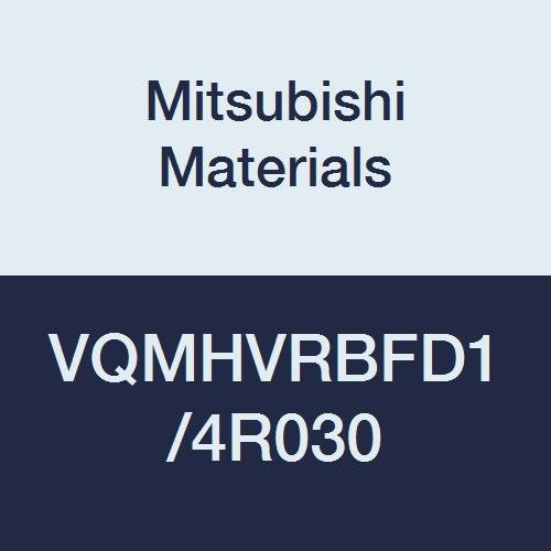 Medium Flute 4 0.0299 Corner Radius Shape Mitsubishi Materials VQMHVRBFD1//4R030 VQMHVRBF Carbide Smart Miracle Corner Radius End Mill 0.2500 Cut Dia 0.6252 LOC Irregular Helix Flutes