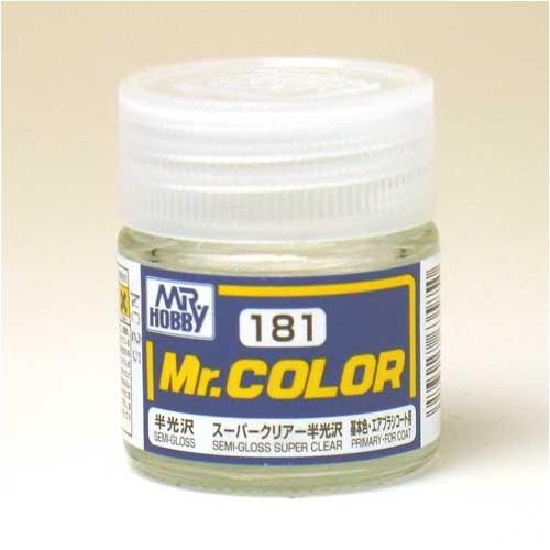 Mr.カラー C181 スーパークリアー半光沢