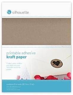 Silhouettes Inkjet printable tempor/äre t/ätowierung papier 2 blatt