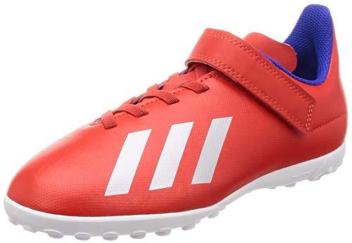 adidas(아디다스)  어린이 키즈 축구화 풋살화 엑스 18.4 TF J 벨크로 키즈 주니어 어린이 아동 축구화 17.0cm -24.5cm