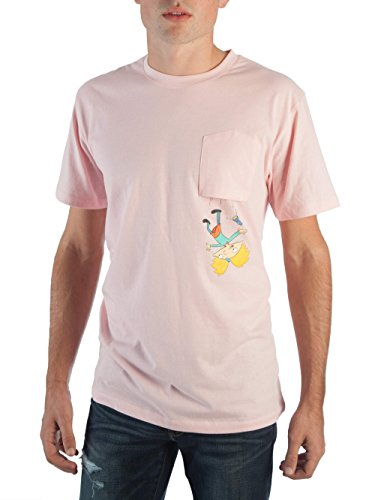 Hey Arnold Nickelodeon Upside Down Pocket Tee for Men (Medium (38/40)) for $<!--$21.77-->