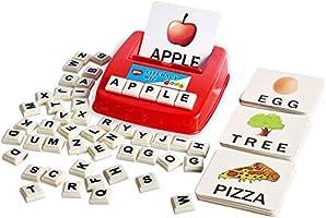 BOHS Literacy Wiz Fun Game - Sight Words - 60 Flash Cards - Preschooler Language Learning Educational Toys