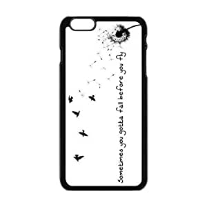 "Danny Store Hardshell Cell Phone Cover Case for New iPhone 6 Plus (5.5""), Sometimes You Gotta Fall Before You Fly Kimberly Kurzendoerfer"