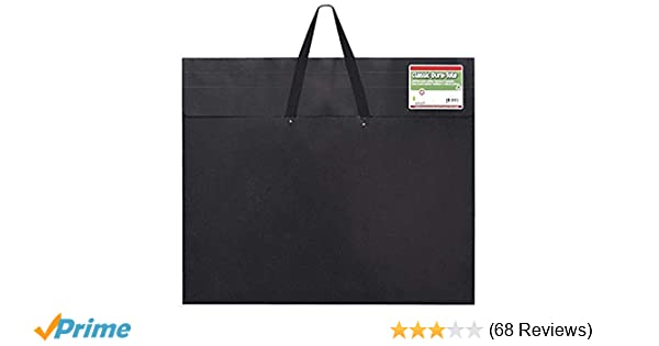 Star Products 20-Inch by 26-Inch by 2-Inch Dura Tote Classic Black Poly Portfolio
